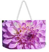 Art Prints Dahlia Flower Decorative Art Garden Baslee Weekender Tote Bag
