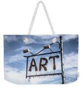 Art Sign Weekender Tote Bag