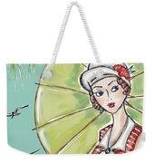 Art Spring France Weekender Tote Bag