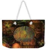 Artful Pumpkins Weekender Tote Bag