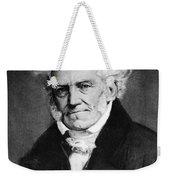 Arthur Schopenhauer Weekender Tote Bag