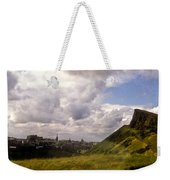 Arthurs Seat Edinburgh Weekender Tote Bag