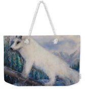 Artic Fox Weekender Tote Bag