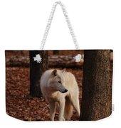 Artic Wolf Weekender Tote Bag