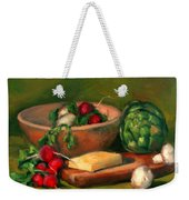 Artichoke And Radishes Weekender Tote Bag