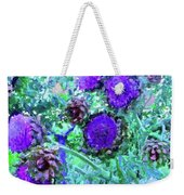 Artichoke Blues Weekender Tote Bag