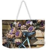 Artichoke Flowers With Bicycle Weekender Tote Bag