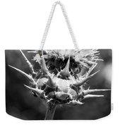 Artichoke Thistle Bw Weekender Tote Bag