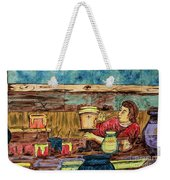 Artisan Market La Mariscal In Quito  Weekender Tote Bag