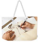 Artist At Work - Michelle Wie Part 1 Weekender Tote Bag