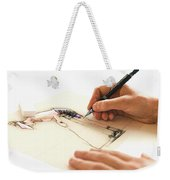 Artist At Work - Michelle Wie Part 3 Weekender Tote Bag