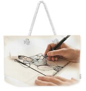 Artist At Work - So Yeon Ryu Part 3 Weekender Tote Bag