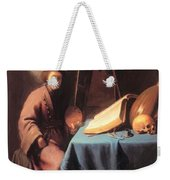 Artist In His Studio 1632 Weekender Tote Bag