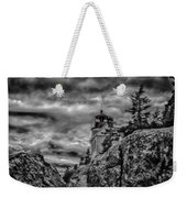Artistic Bass Harbor Lighthouse In Acadia Weekender Tote Bag
