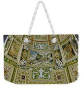 Artistic Ceilings Within The Vatican Museums In The Vatican City Weekender Tote Bag