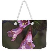 Artistic In Pink Weekender Tote Bag