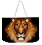 Artistic Lion Weekender Tote Bag