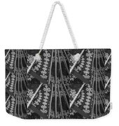 Artistic Sparkle Floral Black And White Graphic Art Very Elegant One Of A Kind Work That Will Show G Weekender Tote Bag