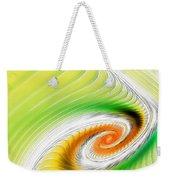 Artistic Spiral Weekender Tote Bag