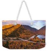 Artists Bluff Sunset Rainbow Weekender Tote Bag