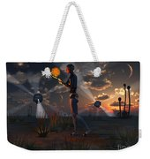 Artists Concept Of A Quest To Find New Weekender Tote Bag