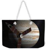 Artists Concept Of The Juno Spacecraft Weekender Tote Bag by Stocktrek Images