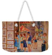 Artists Corner Rue St Jacques Weekender Tote Bag