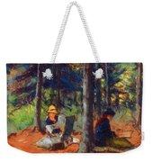 Artists In The Woods Weekender Tote Bag