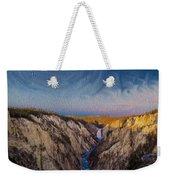 Artist's Point Sunrise Weekender Tote Bag
