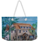 Arts And Crafts Style Weekender Tote Bag