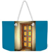Arts Center Door Weekender Tote Bag