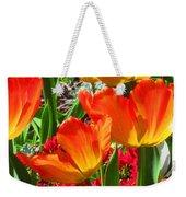 Artsy Tulips Weekender Tote Bag