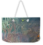 Artwork Representing The Disappeared Located Under A Bridge In Buenos Aires-argentina  Weekender Tote Bag