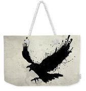 Raven Weekender Tote Bag by Nicklas Gustafsson