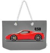 Ferrari 458 Italia Weekender Tote Bag