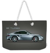 Porsche 911 Turbo Weekender Tote Bag by Mark Rogan