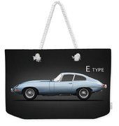 The 65 E-type Coupe Weekender Tote Bag