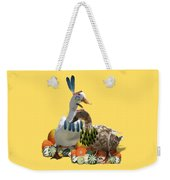 Thanksgiving Indian Ducks Weekender Tote Bag