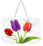 Tulip Trio Weekender Tote Bag
