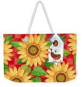 Sunflower Surprise Weekender Tote Bag