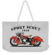 Indian Sport Scout 1940 Weekender Tote Bag