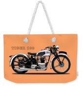 Triumph Tiger 100 1939 Weekender Tote Bag