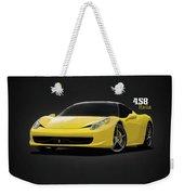 The Ferrari 458 Weekender Tote Bag