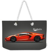 The Lamborghini Aventador Weekender Tote Bag