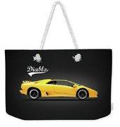 The Lamborghini Diablo Weekender Tote Bag