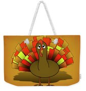 Worried Turkey Illustration Weekender Tote Bag