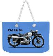 Triumph Tiger 80 1937 Weekender Tote Bag