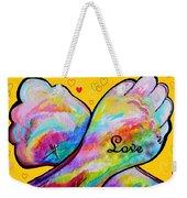 American Sign Language Love Weekender Tote Bag