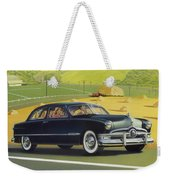 1950 Custom Ford - Square Format Image Picture Weekender Tote Bag