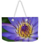 The Lotus Flower Weekender Tote Bag
